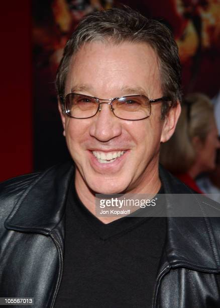 Tim Allen during 'The Incredibles' Los Angeles Premiere Arrivals at The El Capitan Theatre in Hollywood California United States