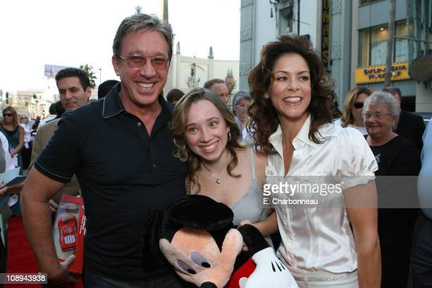 Tim Allen Kady Allen and Jane Allen during The Los Angeles Premiere of Walt Disney Pictures' 'The Santa Clause 3 The Escape Clause' at El Capitan...