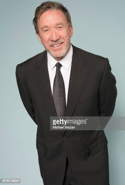 Tim Allen poses for portrait at The 44th Daytime Emmy Awards Portraits by The Artists Project Sponsored by Foster Grant on April 30 2017 in Los...
