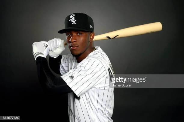 Tim Anderson of the Chicago White Sox poses on Chicago White Sox Photo Day during Spring Taining on February 23 2017 in Glendale Arizona