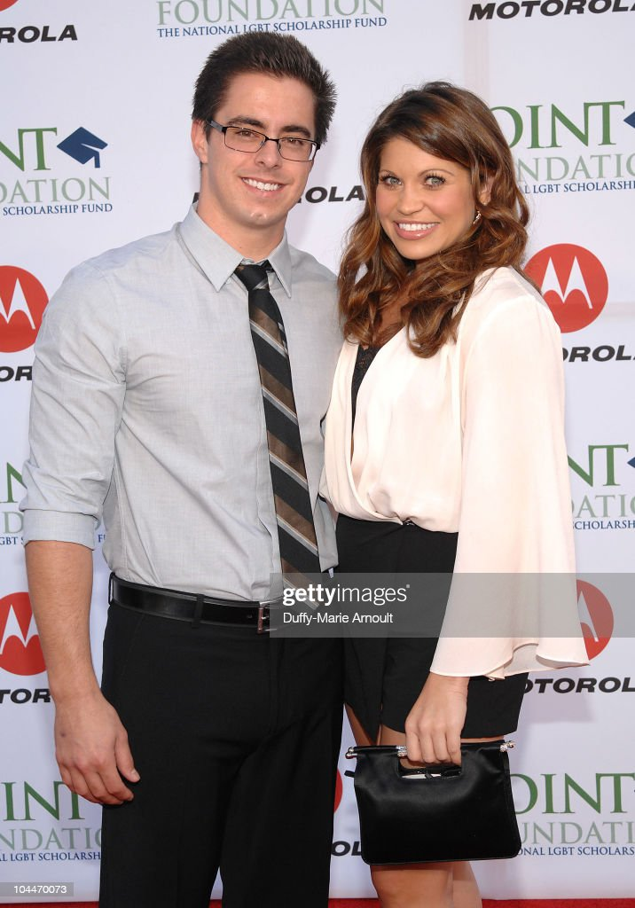 Tim Belusko and <a gi-track='captionPersonalityLinkClicked' href=/galleries/search?phrase=Danielle+Fishel&family=editorial&specificpeople=1543291 ng-click='$event.stopPropagation()'>Danielle Fishel</a> attend the 4th Annual Point Honors Gala at Raleigh Studios on September 25, 2010 in Los Angeles, California.