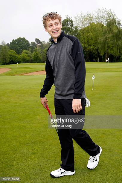 Tim Bendzko attends the 'Camp David Eagles Hauptstadt Golf Cup' on May 19 2014 in Berlin Germany