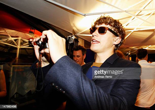 Tim Bendzko attends the Michalsky Style Nite 2012 Show at the MercedesBenz Fashion Week Spring/Summer 2013 on July 6 2012 in Berlin Germany