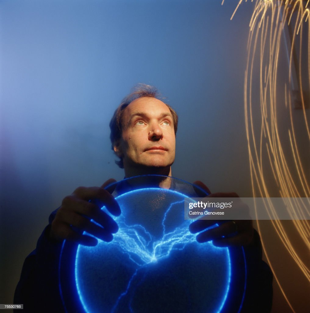 Tim Berners-Lee, British Physicist turned Programmer, Inventor of the World Wide Web in Boston, Massachusetts