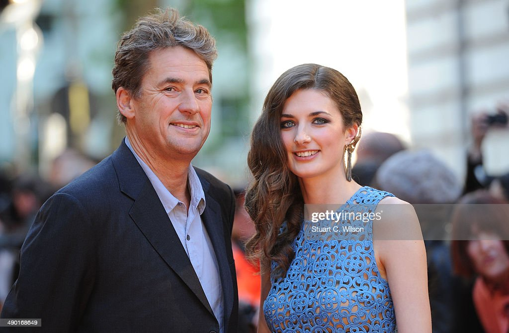 Tim Bevan and Daisy Bevan attend the UK Premiere of 'The Two Faces Of January' at The Curzon Mayfair on May 13 2014 in London England