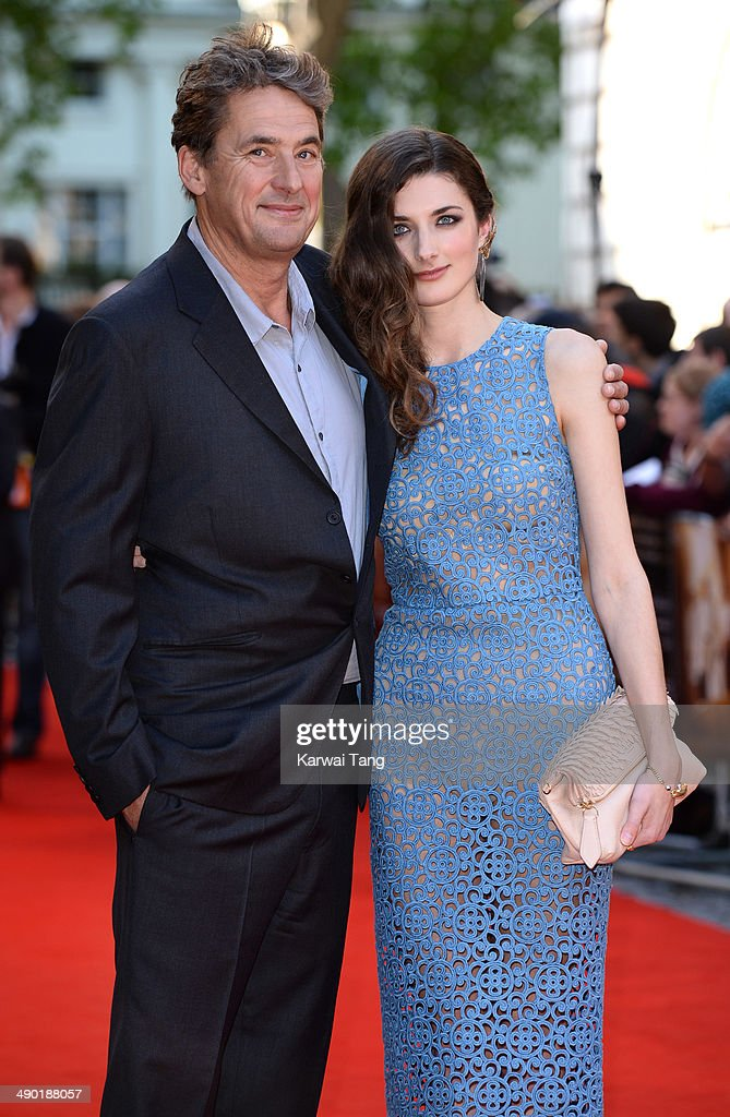 Tim Bevan and Daisy Bevan attend the UK Premiere of 'The Two Faces Of January' held at the Curzon Mayfair on May 13 2014 in London England