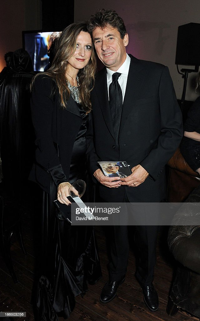 Tim Bevan attends the UNICEF UK Halloween Ball hosted by Jemima Khan raising vital funds for UNICEF's work for children affected by the current Syria...