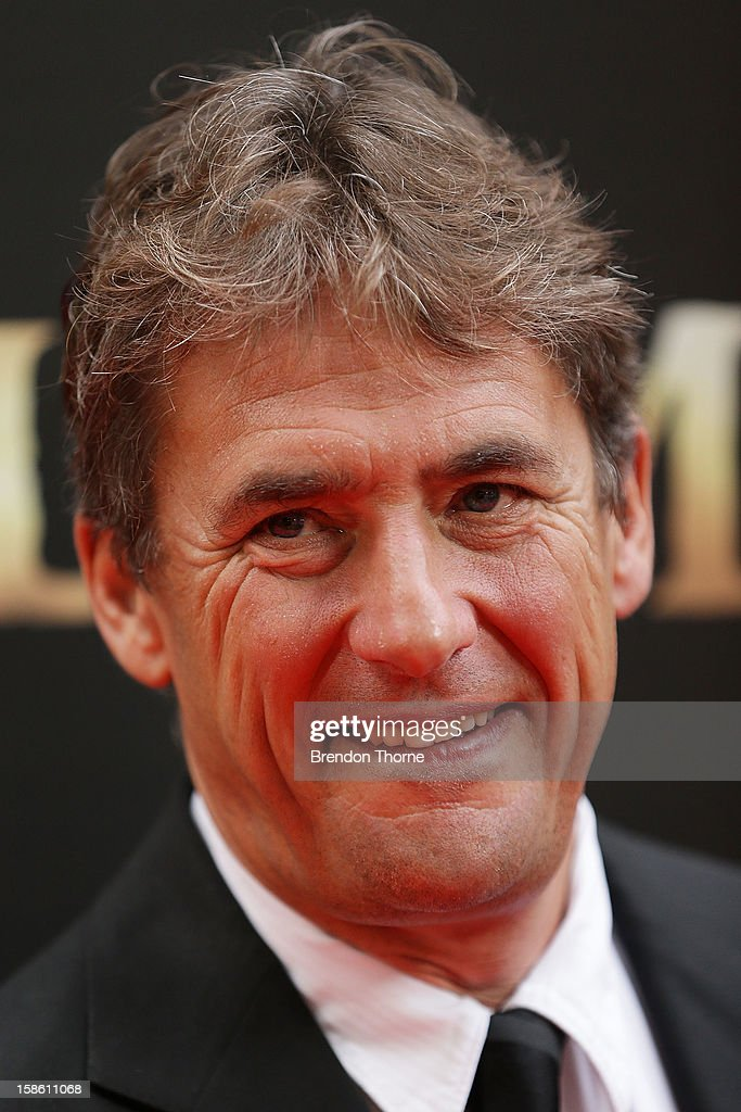 Tim Bevan walks the red carpet during the Australian premiere of 'Les Miserables' at the State Theatre on December 21, 2012 in Sydney, Australia.