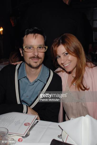 Tim Biskup Jillian Kogan attend The Supper Club Shepard Fairey's SNO host a Bombay Sapphire Tea Party at The Tea Room on July 20 2010 in Hollywood...