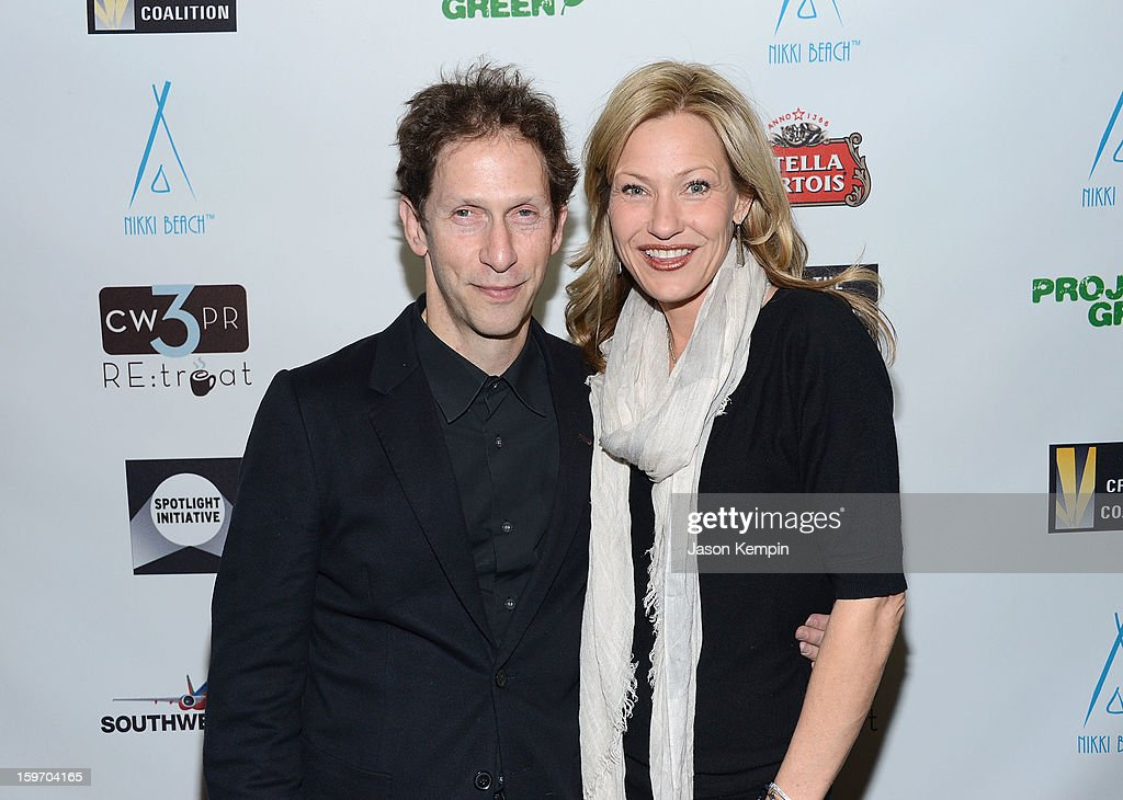 <a gi-track='captionPersonalityLinkClicked' href=/galleries/search?phrase=Tim+Blake+Nelson&family=editorial&specificpeople=2150814 ng-click='$event.stopPropagation()'>Tim Blake Nelson</a> and actress <a gi-track='captionPersonalityLinkClicked' href=/galleries/search?phrase=Joey+Lauren+Adams&family=editorial&specificpeople=621841 ng-click='$event.stopPropagation()'>Joey Lauren Adams</a> attend the Creative Coalition's Sundance Film Festival: Passion...A Dinner Of Indie Chic at The Sky Lodge on January 18, 2013 in Park City, Utah.