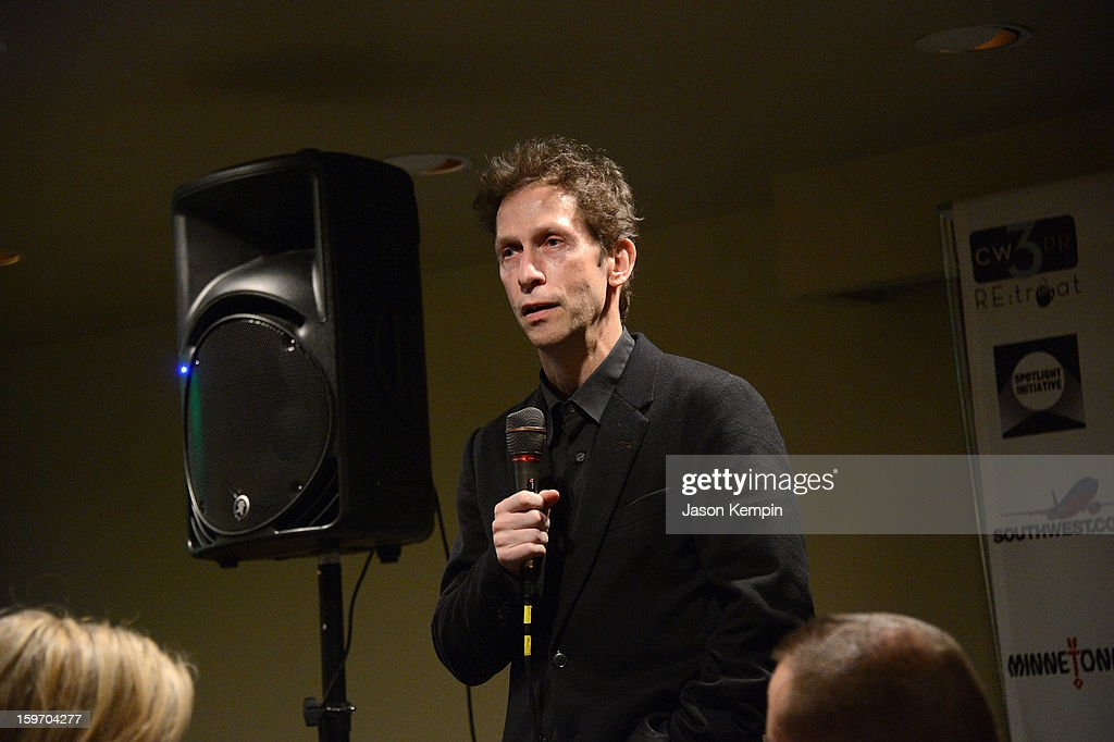 Tim Blake Nelson attends the Creative Coalition's Sundance Film Festival: Passion...A Dinner Of Indie Chic at The Sky Lodge on January 18, 2013 in Park City, Utah.