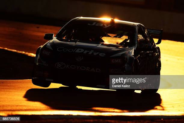 Tim Blanchard drives the CoolDrive Racing Holden Commodore VF during race 9 for the Winton SuperSprint which is part of the Supercars Championship at...