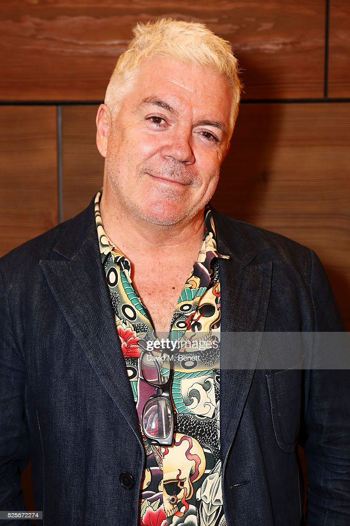 <a gi-track='captionPersonalityLinkClicked' href=/galleries/search?phrase=Tim+Blanks&family=editorial&specificpeople=714535 ng-click='$event.stopPropagation()'>Tim Blanks</a> attends the BFC Fashion Trust x Farfetch cocktail reception on April 28, 2016 in London, England.