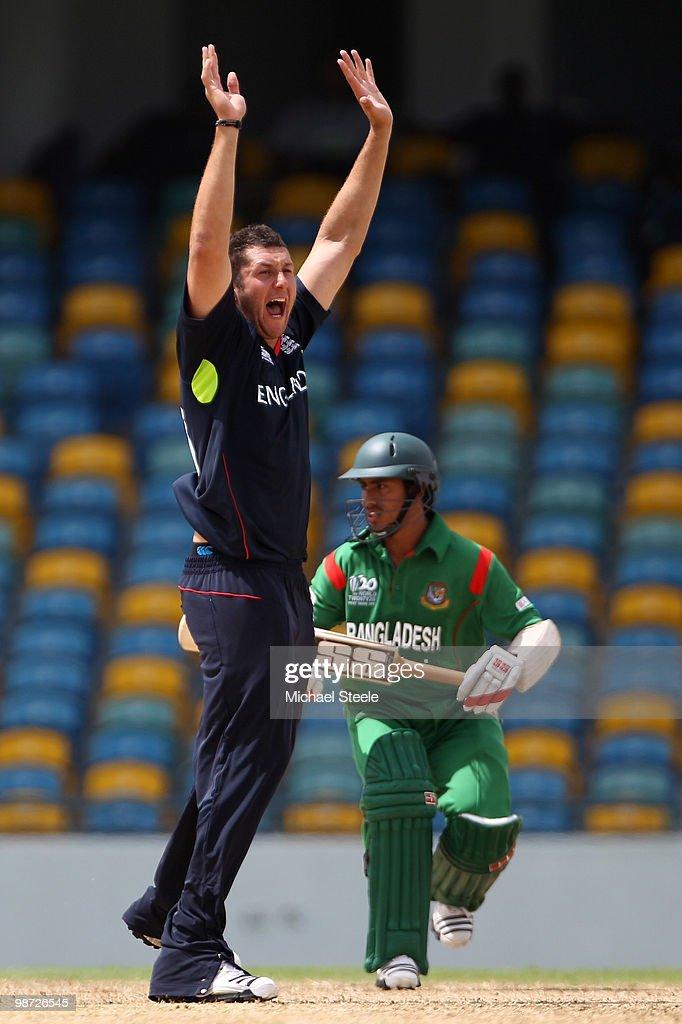 Bangladesh v England: Warm Up Match - ICC T20 World Cup