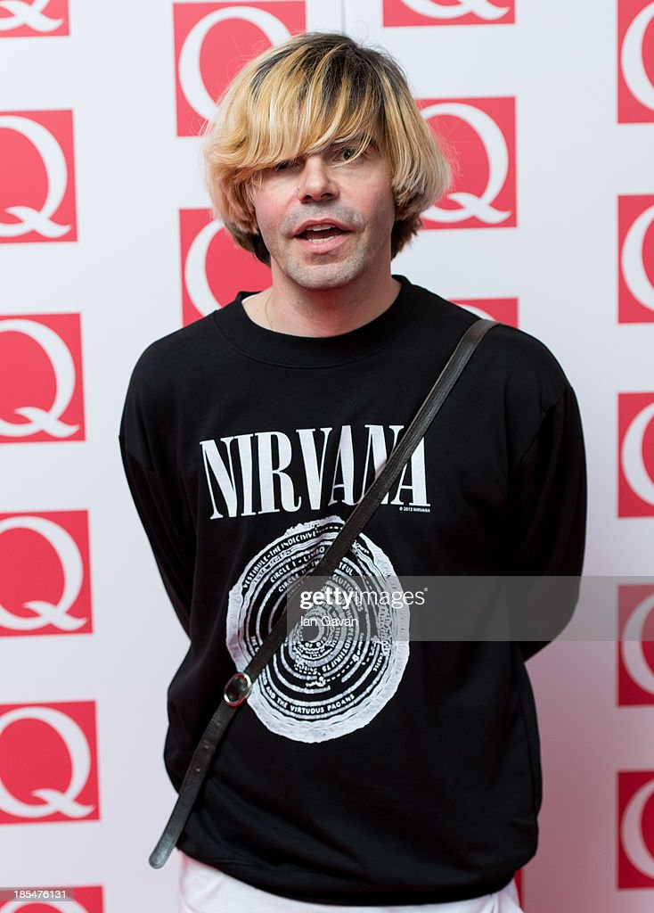 <a gi-track='captionPersonalityLinkClicked' href=/galleries/search?phrase=Tim+Burgess&family=editorial&specificpeople=800430 ng-click='$event.stopPropagation()'>Tim Burgess</a> attends The Q Awards at The Grosvenor House Hotel on October 21, 2013 in London, England.