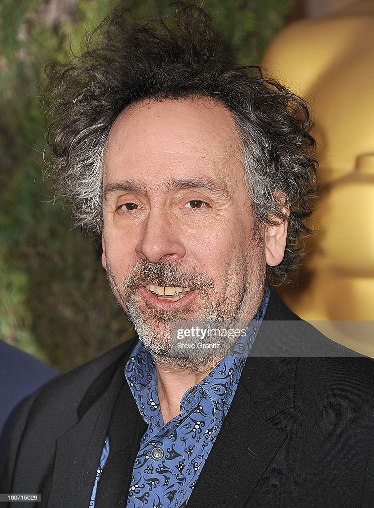 Tim Burton arrives at the 85th Academy Awards - Nominees Luncheon at The Beverly Hilton Hotel on February 4, 2013 in Beverly Hills, California.