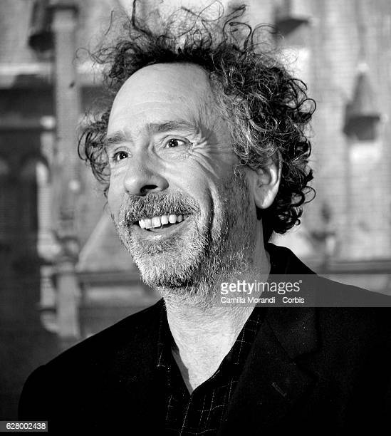 Tim Burton attends 'Miss Peregrine's Home for Peculiar Children' photocall on December 6 2016 in Rome Italy
