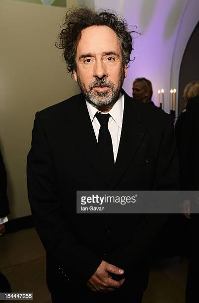 Tim Burton attends the 56th BFI London Film Festival Awards at the Banqueting House on October 20 2012 in London England