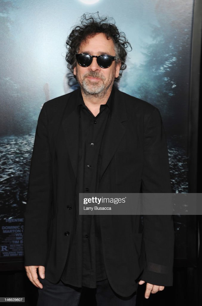 <a gi-track='captionPersonalityLinkClicked' href=/galleries/search?phrase=Tim+Burton&family=editorial&specificpeople=206342 ng-click='$event.stopPropagation()'>Tim Burton</a> attends the 'Abraham Lincoln: Vampire Hunter' premiere at AMC Loews Lincoln Square on June 18, 2012 in New York City.