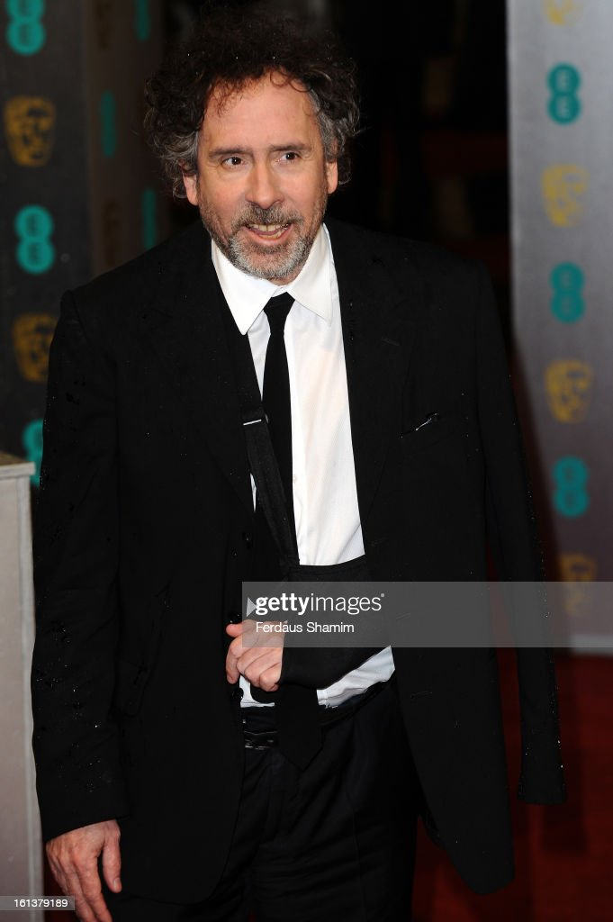 Tim Burton attends the EE British Academy Film Awards at The Royal Opera House on February 10, 2013 in London, England.