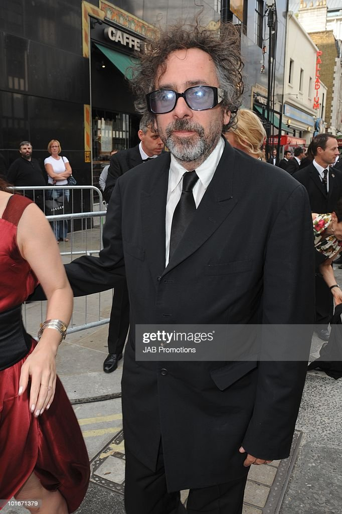 Tim Burton attends the Philips British Academy Television awards (BAFTA) at London Palladium on June 6, 2010 in London, England.