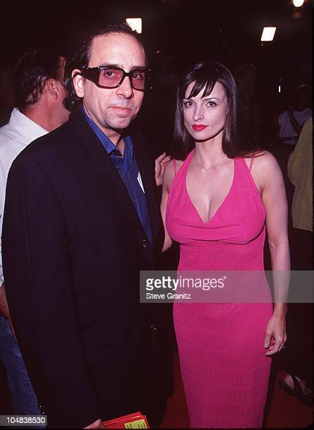 Tim Burton Date during 'Boogie Nights' Los Angeles Premiere at Mann Chinese Theatre in Hollywood California United States