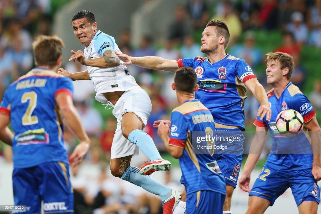 A-League Rd 23 - Melbourne v Newcastle