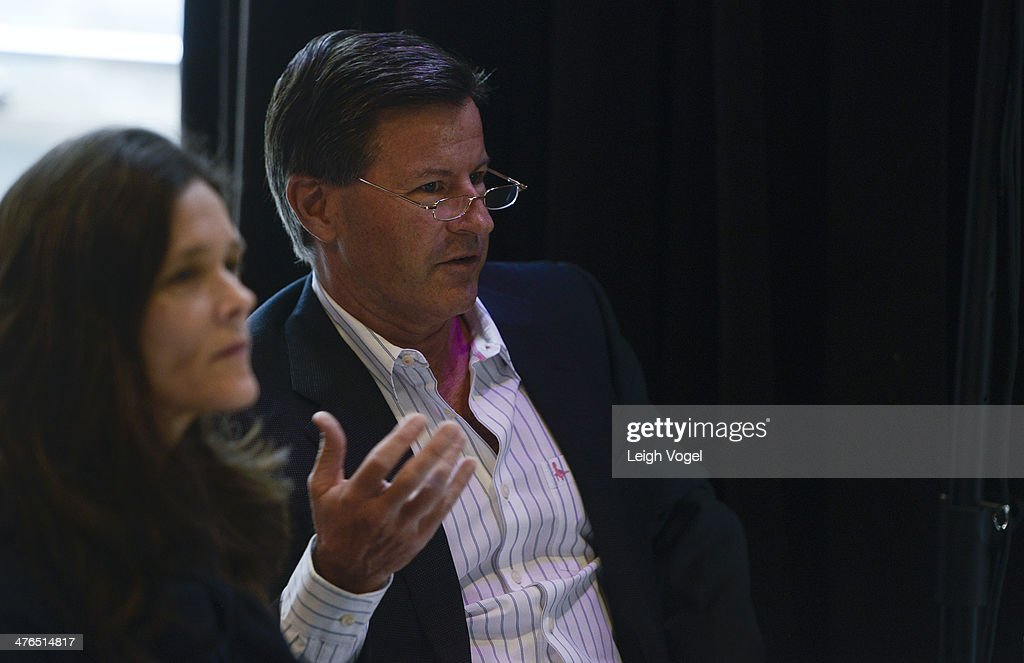 Tim Carroll judges the 2014 EDENS Retail Challenge at Gansevoort Park Hotel on March 3, 2014 in New York City.