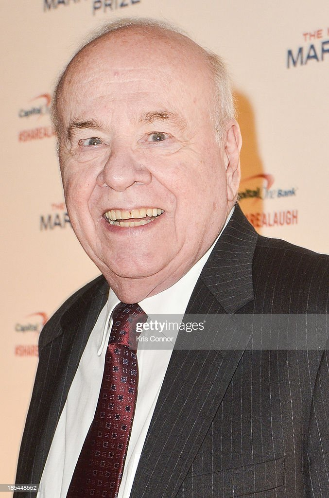 <a gi-track='captionPersonalityLinkClicked' href=/galleries/search?phrase=Tim+Conway&family=editorial&specificpeople=215325 ng-click='$event.stopPropagation()'>Tim Conway</a> poses on the red carpet during The 16th Annual Mark Twain Prize For American Humor at John F. Kennedy Center for the Performing Arts on October 20, 2013 in Washington, DC.