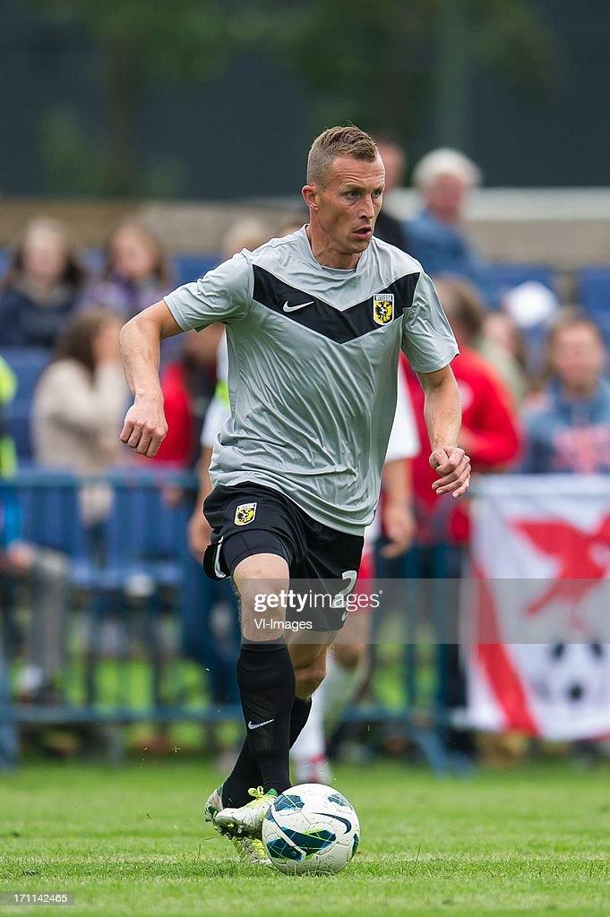 Tim Cornelisse during the pre season friendly match between on June 20, 2013 at Sportpark de Bree West in Scherpenzeel , The Netherlands.