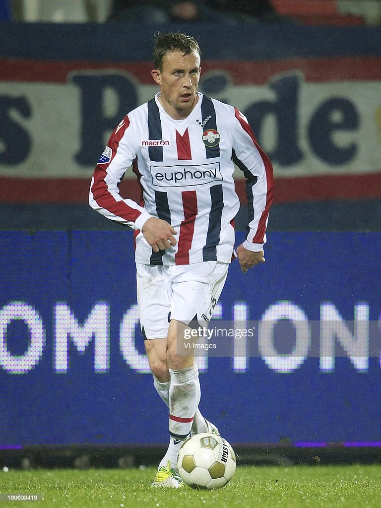 Tim Cornelisse of Willem II during the Dutch Eredivisie match between Willem II and Feyenoord at the Koning Willem II Stadium on february 3, 2013 in Tilburg, The Netherlands