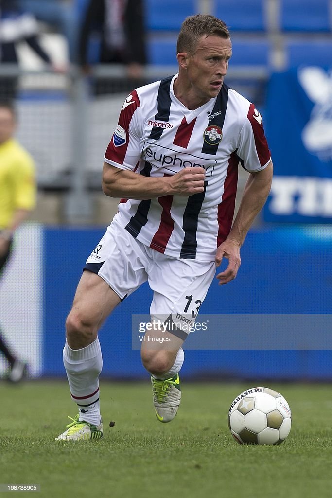 Tim Cornelisse of Willem II during the Dutch Eredivisie match between Willem II and AZ Alkmaar on May 12, 2013 at the Koning Willem II stadium in Tilburg, The Netherlands.