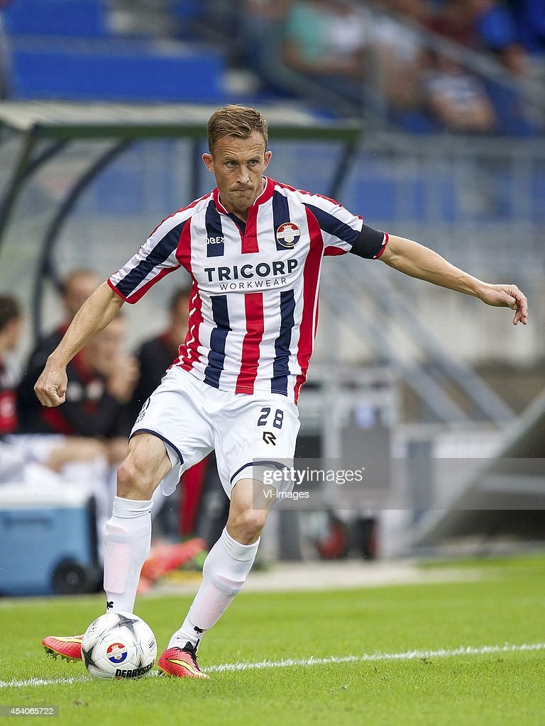 Tim Cornelisse of Willem II during the Dutch Eredivisie match between Willem II and AZ at the Koning Willem II stadium on august 23 2014 in Tilburg...