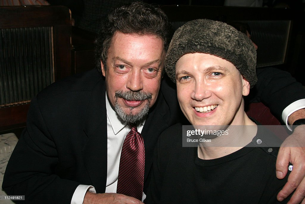 Tim Curry and Charles Busch during The Actors Fund 20th Anniversary Performance of 'Vampire Lesbians of Sodom' with Julie Halston and Charles Busch...