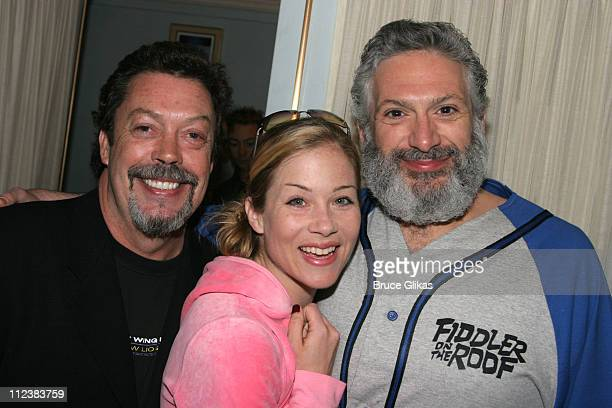 Tim Curry Christina Applegate and Harvey Fierstein **Exclusive Coverage**