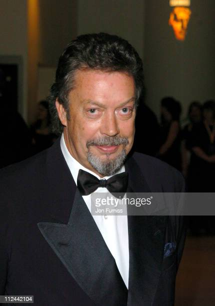 Tim Curry during 2004 BAFTA Awards Inside Arrivals at The Odeon Leicester Square in London United Kingdom
