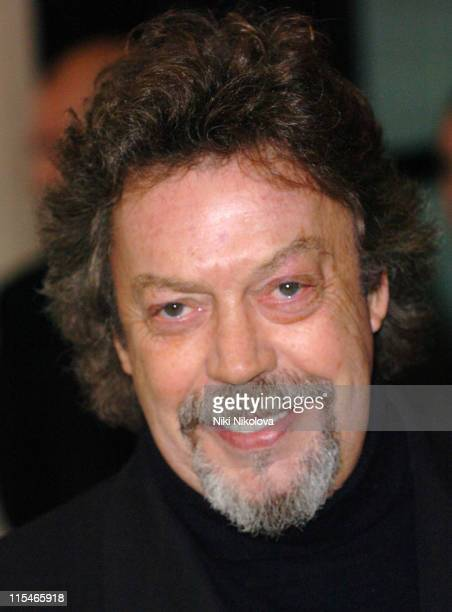 Tim Curry during Evening Standard Theatre Awards Arrivals at The Savoy in London Great Britain