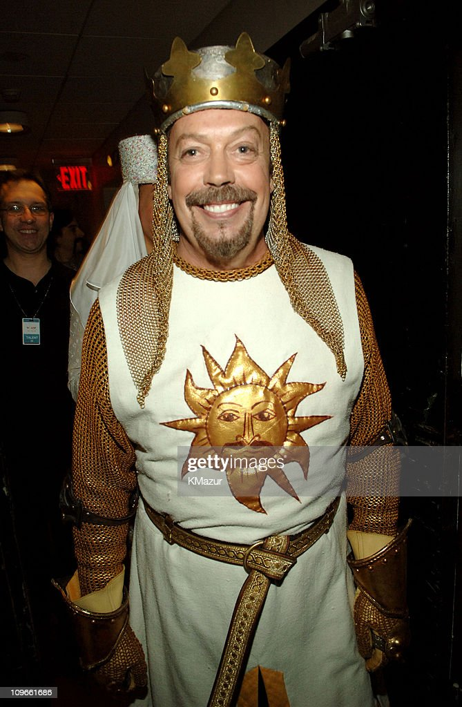 Tim Curry of 'Monty Python's Spamalot' during 59th Annual Tony Awards - Audience and Backstage at Radio City Music Hall in New York City, New York, United States.