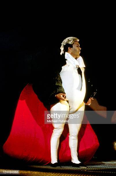 Tim Curry performs on stage at The Wall Concert Berlin 21st July 1990