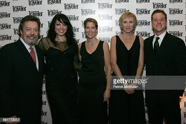 Tim Curry Sara Ramirez Lisa Hughes Klara Glowczewska and Alan Tudyk attend Conde Nast Traveler 18th Annual Readers Choice Awards at The Metropolitan...