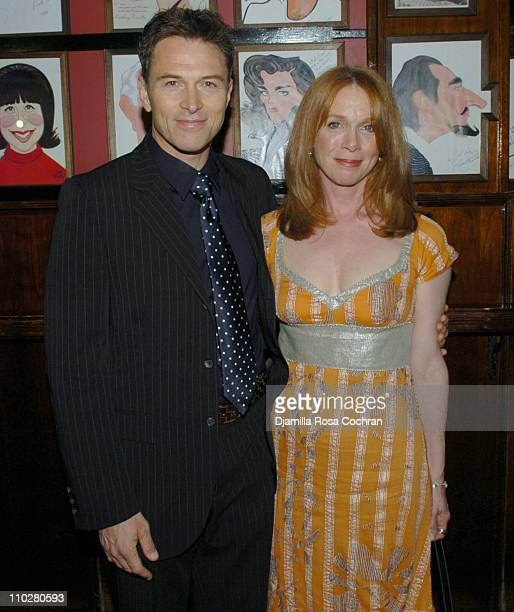 Tim Daly and Amy Daly during 'The Caine Mutiny Court Martial' Opening Night After Party at Sardi's in New York City New York United States
