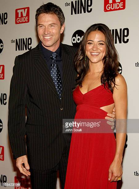 Tim Daly and Camille Guaty during ABC TV Guide and Warner Bros Television Present 'The Nine' Red Carpet Screening at Los Angeles Center Studios in...