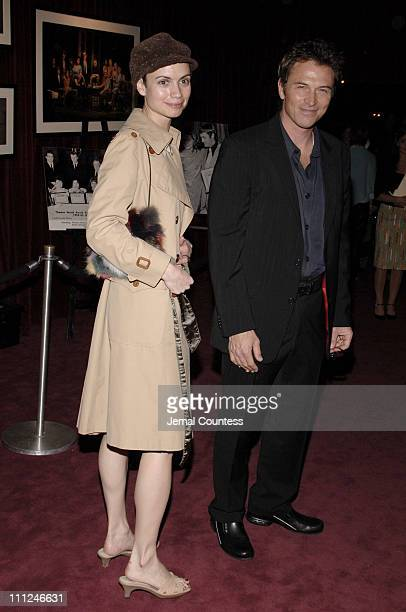 Tim Daly and guest during The 61st Annual Theatre Awards at Studio 54 in New York City New York United States