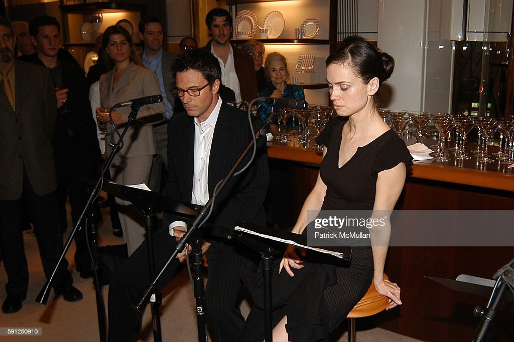 Tim Daly and Yvonne Woods attend Asprey and Michael Imperioli Invite You To A Reading Of Studio Dante's Henry Flamethrowa at Asprey on April 28 2005...