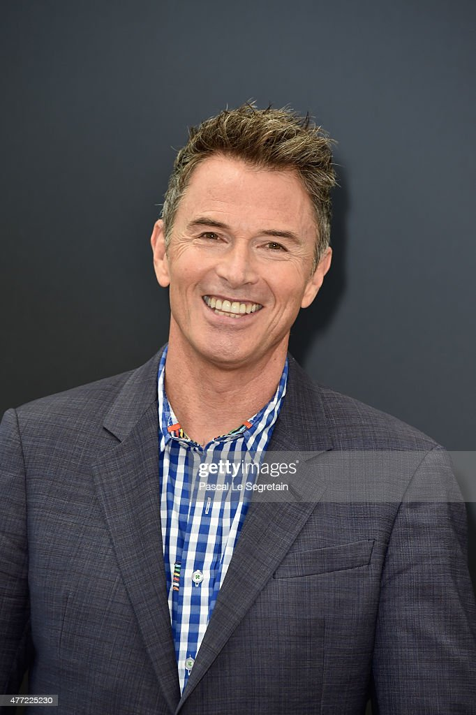 Tim Daly attends a photocall for the 'Madam Secretary' TV series on June 15, 2015 in Monte-Carlo, Monaco.