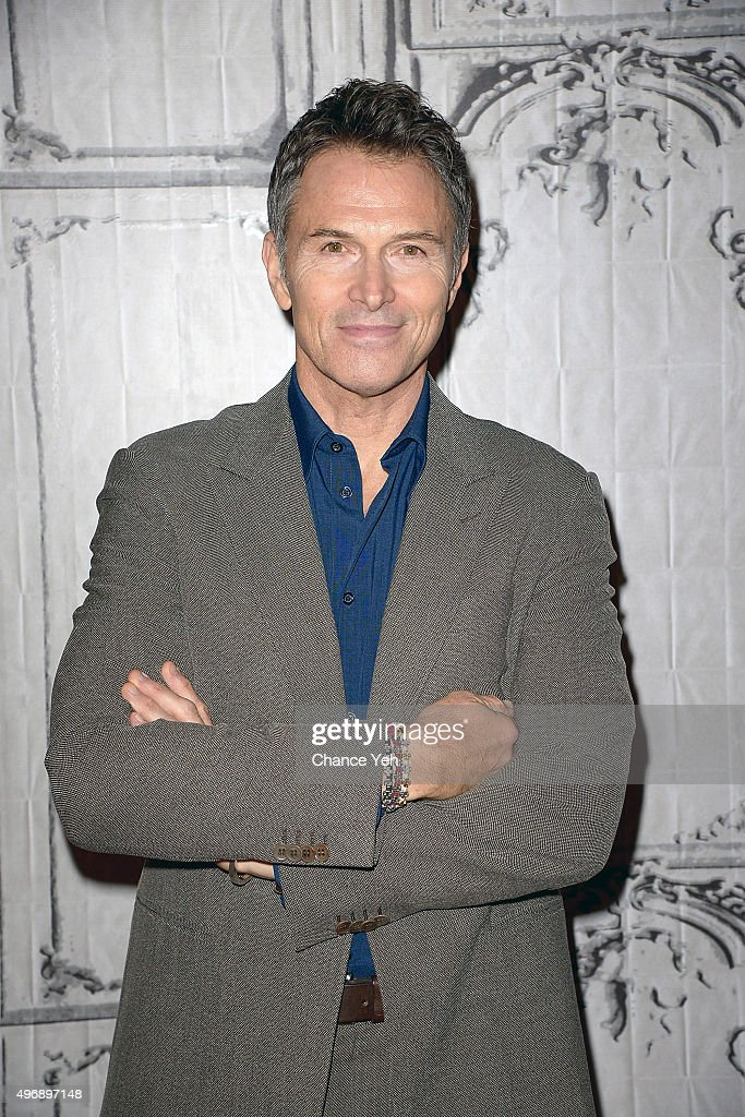 Tim Daly discusses 'The Daly Show' at AOL Studios In New York on November 12, 2015 in New York City.