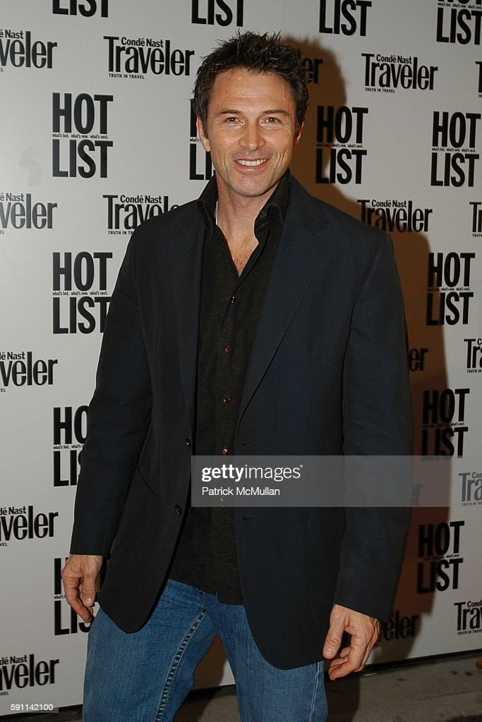 Tim Daly attends Conde Nast Traveler Hot List party at Megu on April 27 2005 in New York City