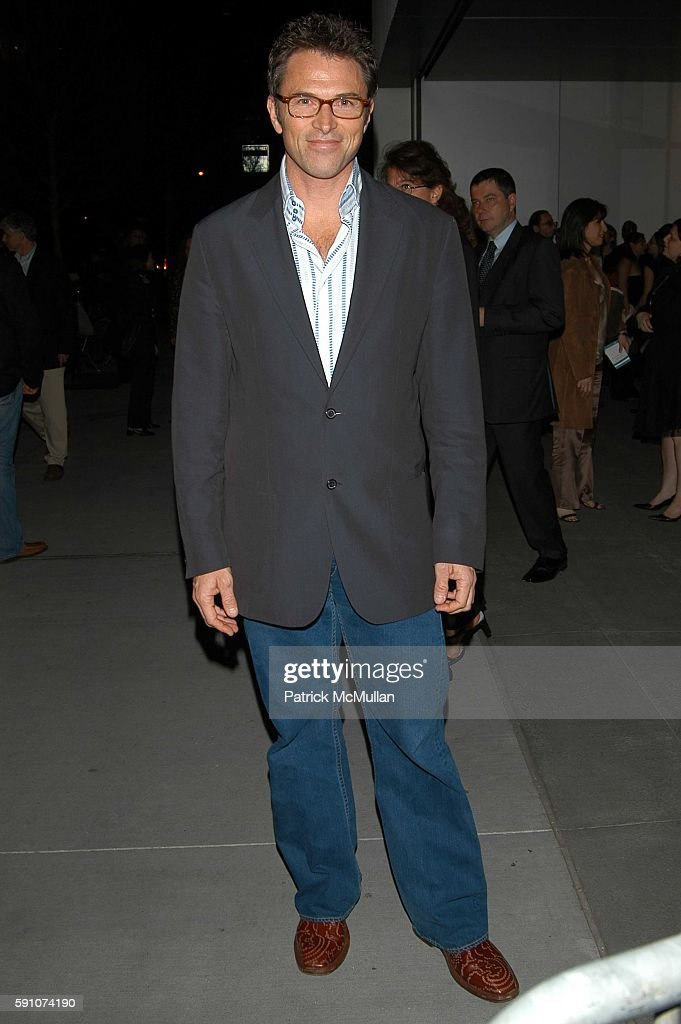 Tim Daly attends The Interpreter screening Arrivals and AfterParty at Ziegfeld Theater and MOMA on April 19 2005 in New York City