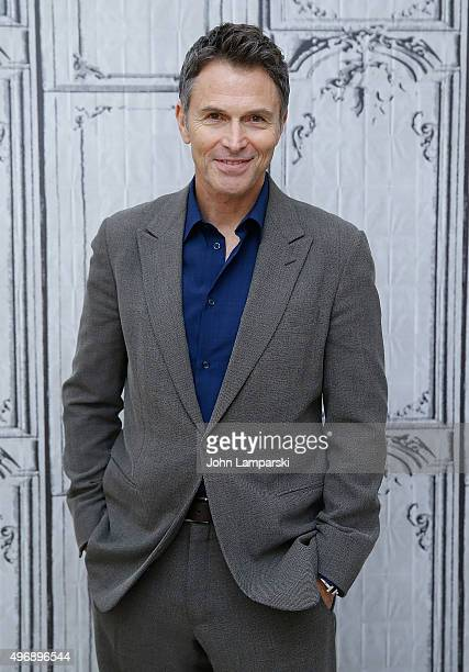 Tim Daly discusses 'The Daly Show' during AOL Build at AOL Studios In New York on November 12 2015 in New York City