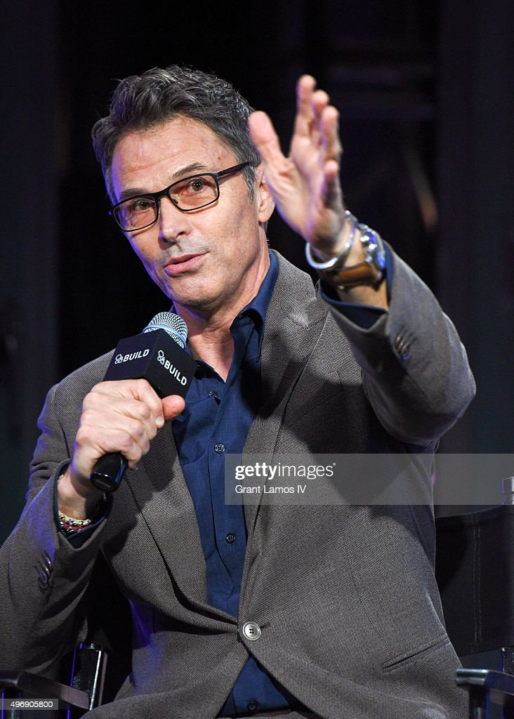 Tim Daly visits AOL Studios to discuss 'The Daly Show' on November 12, 2015 in New York City.